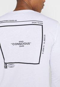 Zign - UNISEX - Långärmad tröja - white - 4