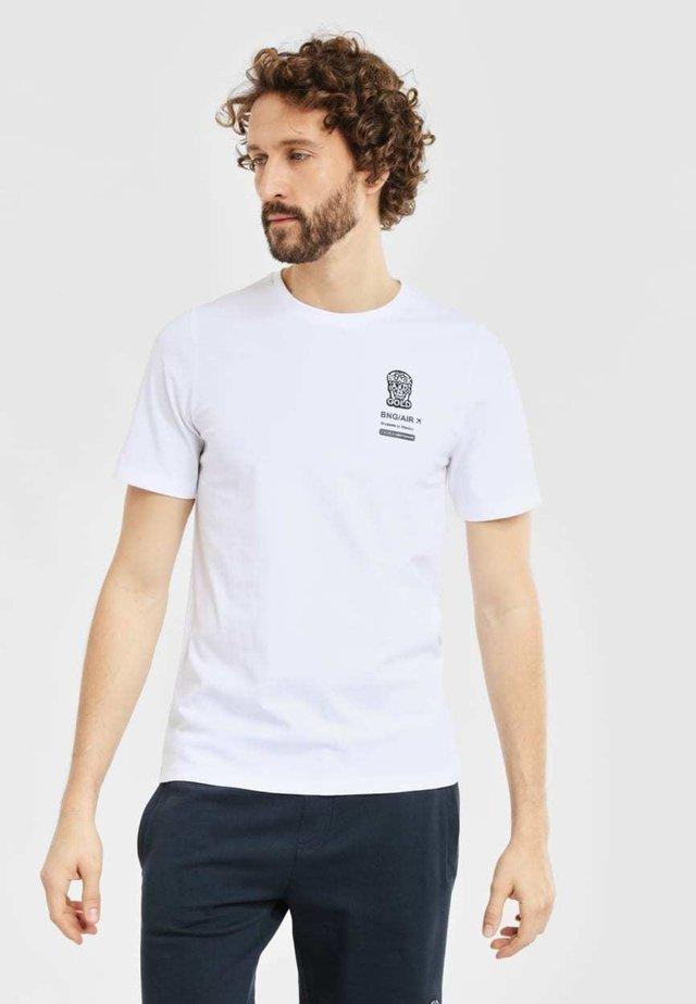 TICKETOS - T-shirt print - white