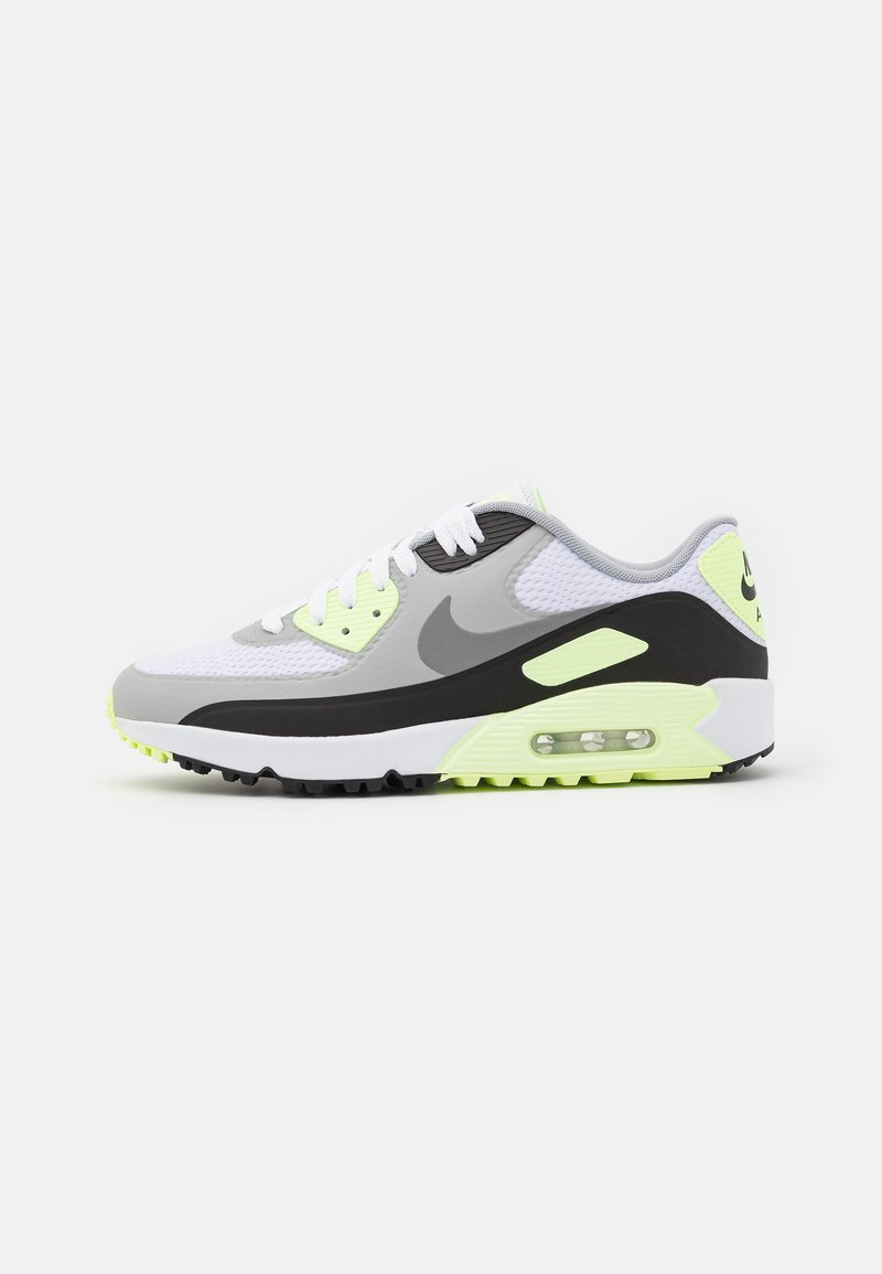 Nike Golf - AIR MAX 90 G - Zapatos de golf - white/particle grey/black/light smoke grey