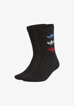 TRICOT THIN RBD CRW ADICOLOR ORIGINALS CREW SOCKS - Socks - black