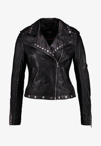 Ibana - SKYLAR - Leather jacket - black - 4