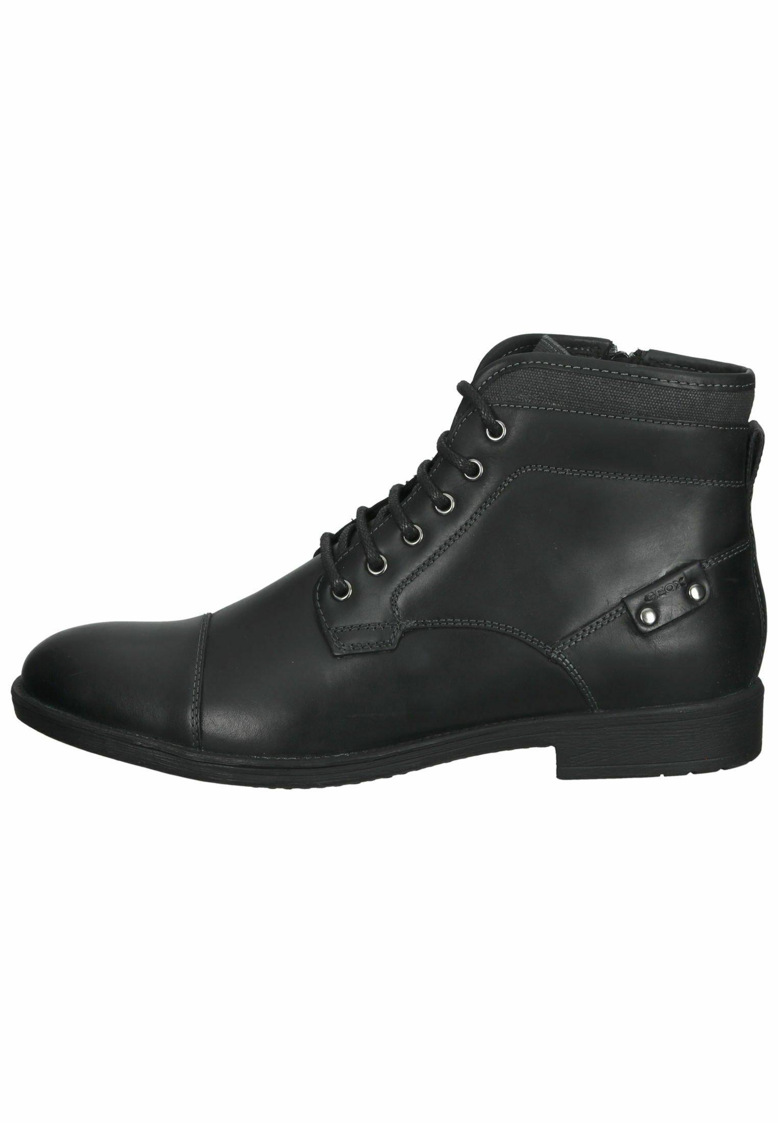 Herren Schnürstiefelette - schwarz