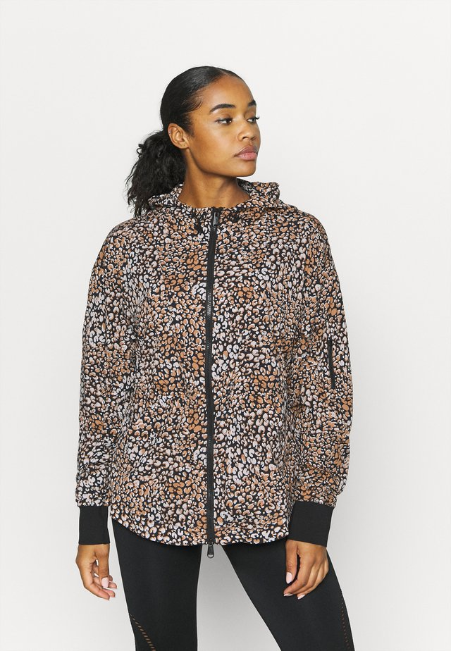 PRINTED RUN WILD JACKET - Kurtka sportowa - black combo
