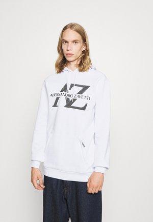BENVIO OTH HOOD - Sweatshirt - optic white