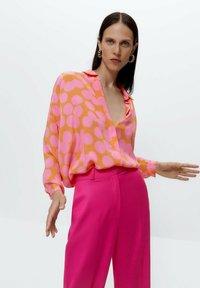 Uterqüe - Button-down blouse - multi coloured - 0