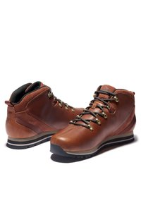 Timberland - SPLITROCK - Sportieve veterschoenen - md brown full grain - 2