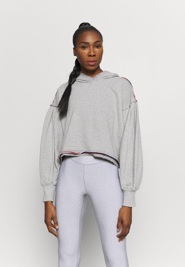 WANDERING SOUL REVERSIBLE - Sweatshirt - heather grey