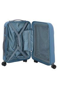 Delsey - DELSEY MUNIA 4-ROLLEN KABINENTROLLEY 55 CM - Wheeled suitcase - blue - 4
