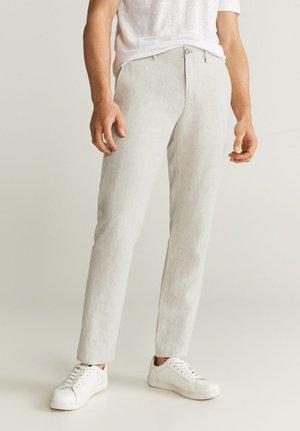 OYSTER - Kalhoty - ecru