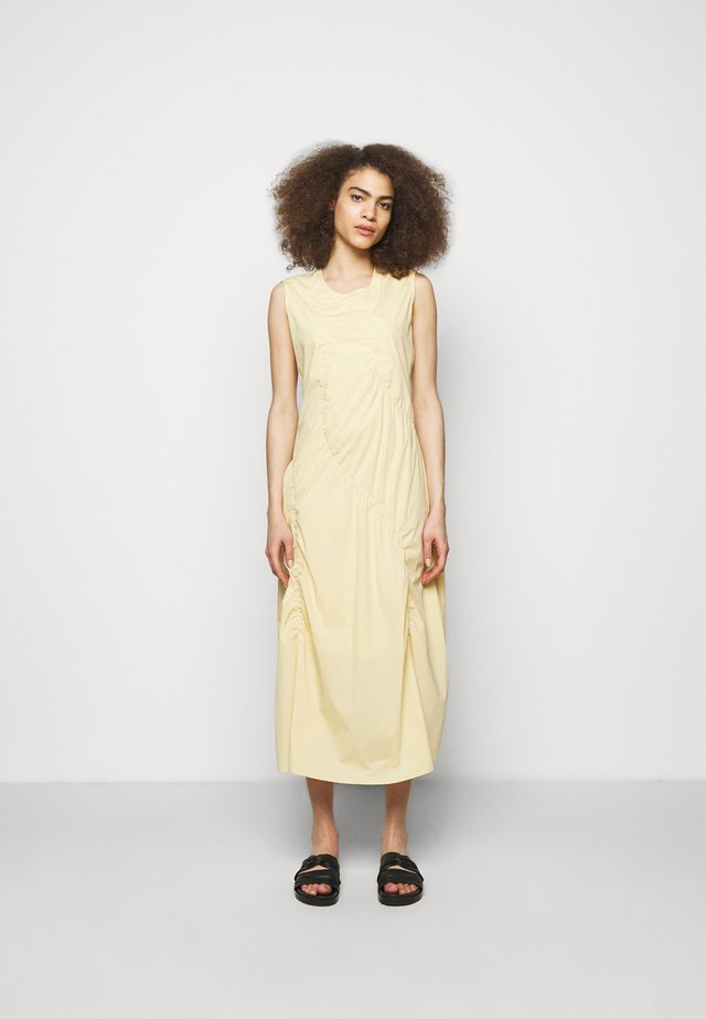 BERNARD DRESS  - Korte jurk - light yellow