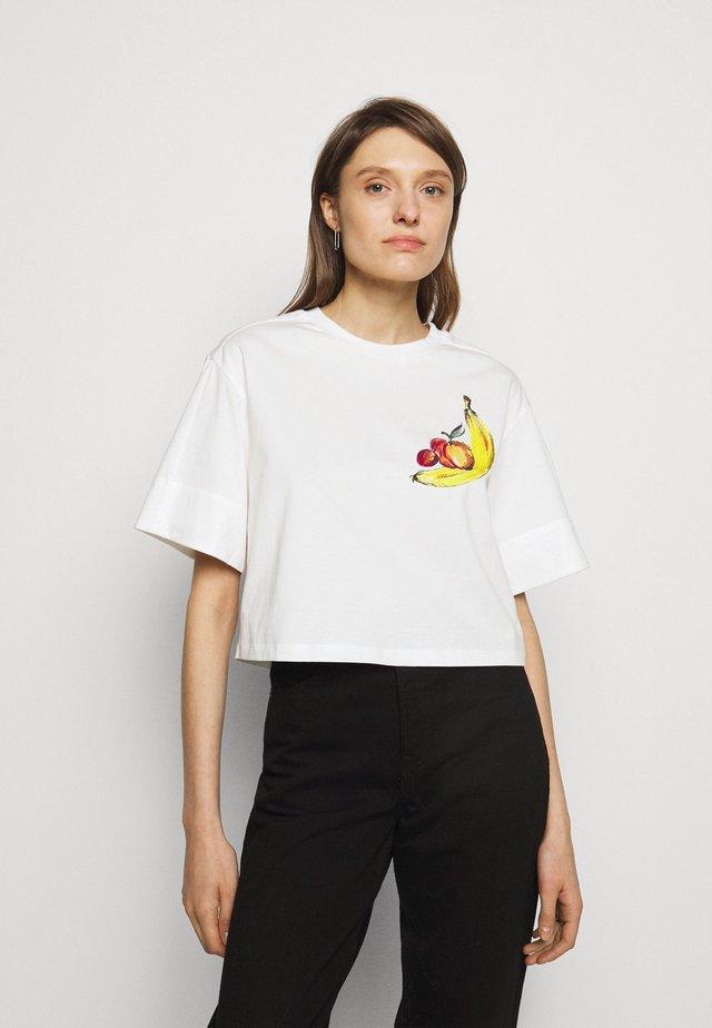 BANANA  - Print T-shirt - off-white