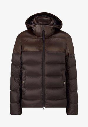 ANDY - Down jacket - dunkelbraun