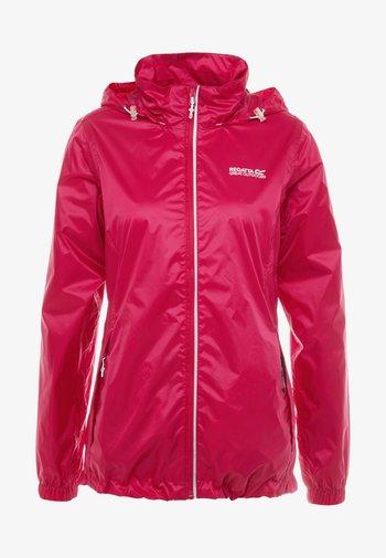 CORINNE IV - Waterproof jacket - dark cerise