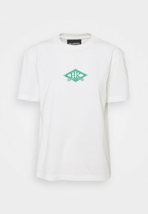 ARTWORK TEE - Print T-shirt - off white