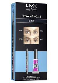 Nyx Professional Makeup - BROW AT HOME SET - Makeup set - black - 5