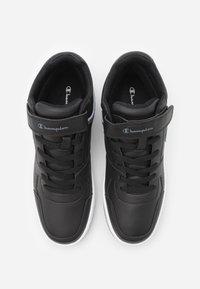 Champion - MID CUT SHOE REBOUND VINTAGE - Zapatillas de baloncesto - new black - 3