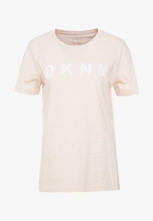 FOUNDATION LOGO TEE - T-shirts med print - blush/white
