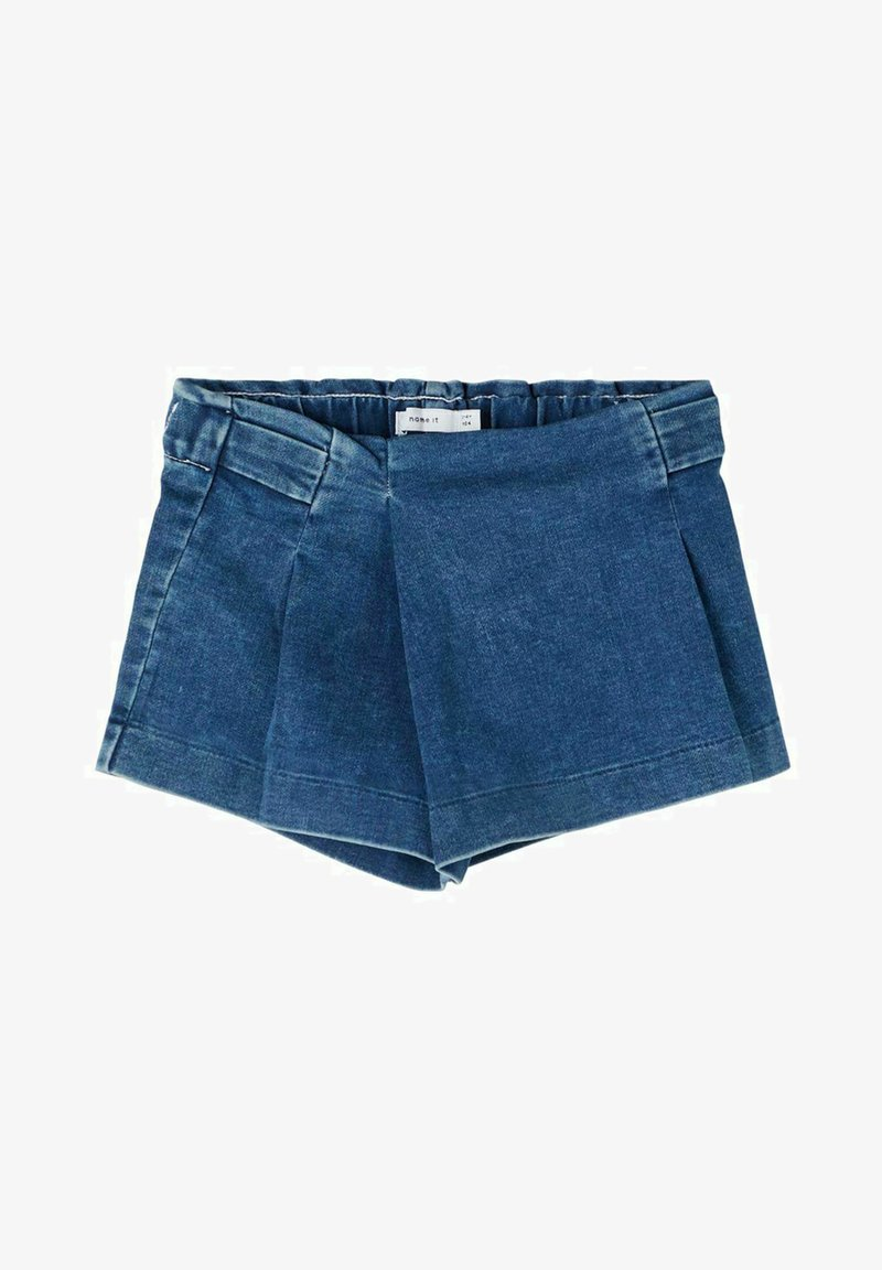 Name it - Denim shorts - medium blue denim