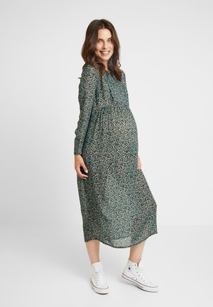 DRESS MAGIC GARDEN LONG NURSING - Denní šaty - green