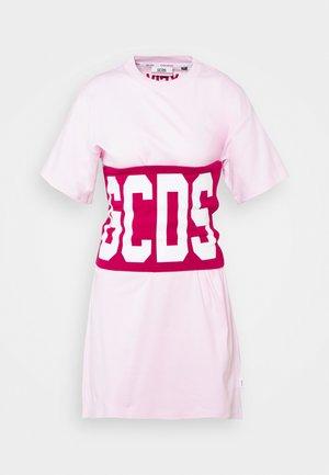 DUO BAND TEE - Print T-shirt - cherry