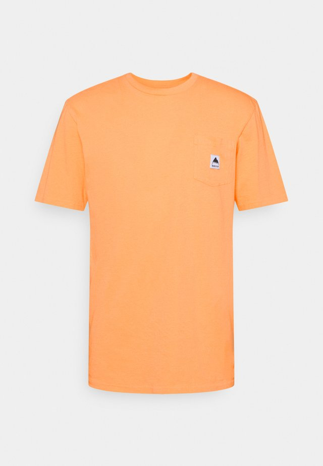 COLFAX PAPAYA - T-shirt basic - papaya