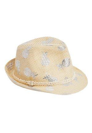STRAW PINEAPPLE PRINT TRILBY (OLDER) - Hat - beige