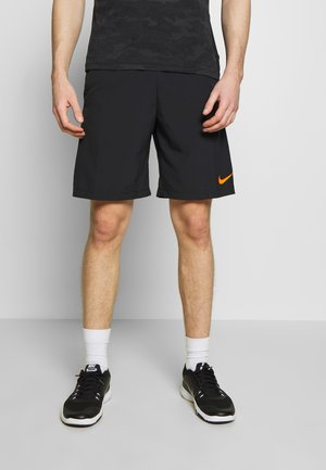 FLEX SHORT - Sports shorts - black/black/hyper crimson