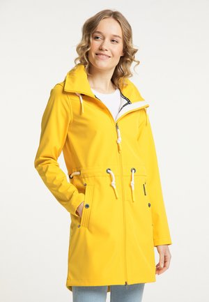 Outdoor jacket - sonnengelb