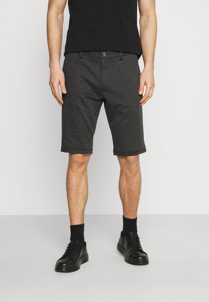 TOM TAILOR - JOSH  - Shorts - anthra melange