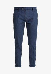 Redefined Rebel - ERCAN PANTS - Pantaloni - navy - 3