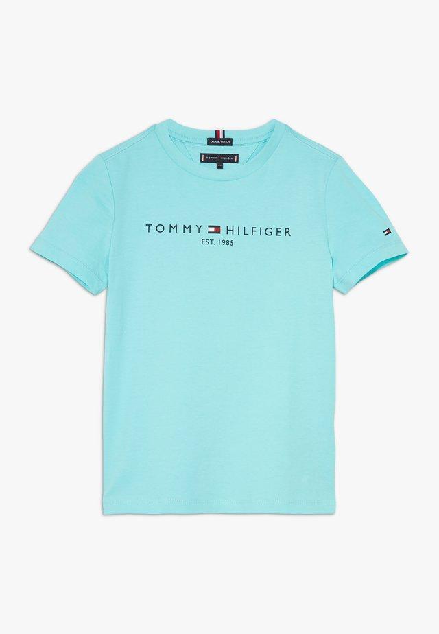 ESSENTIAL LOGO UNISEX - T-shirt print - blue