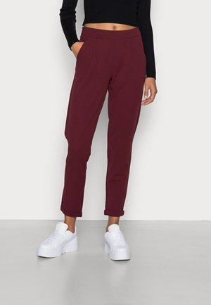 JDYDELICIOUS MIA ANCLE SOLID PANT  - Trousers - windsor wine