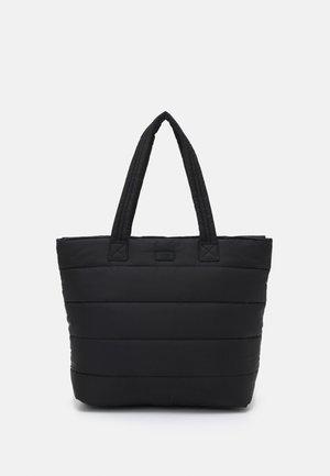 KRYSTAL PUFFER TOTE - Tote bag - black