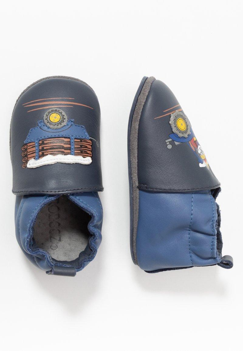 Robeez - RABBIT FARMER - First shoes - marine