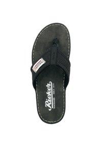 Rieker - T-bar sandals - black/grey - 1