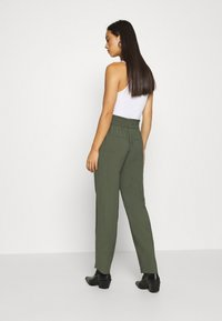 JDY - JDYSABINAHW BELT PANT - Trousers - deep depths - 2