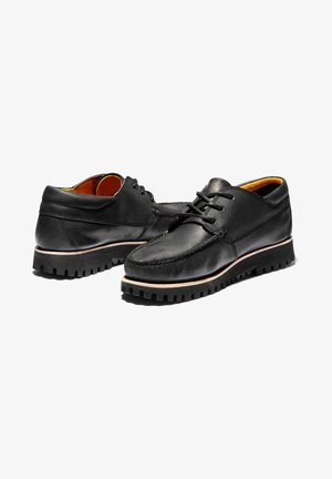 JACKSON'S LANDING - Lace-ups - black full grain