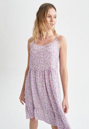 FIT AND FLARE  - Sukienka letnia - purple