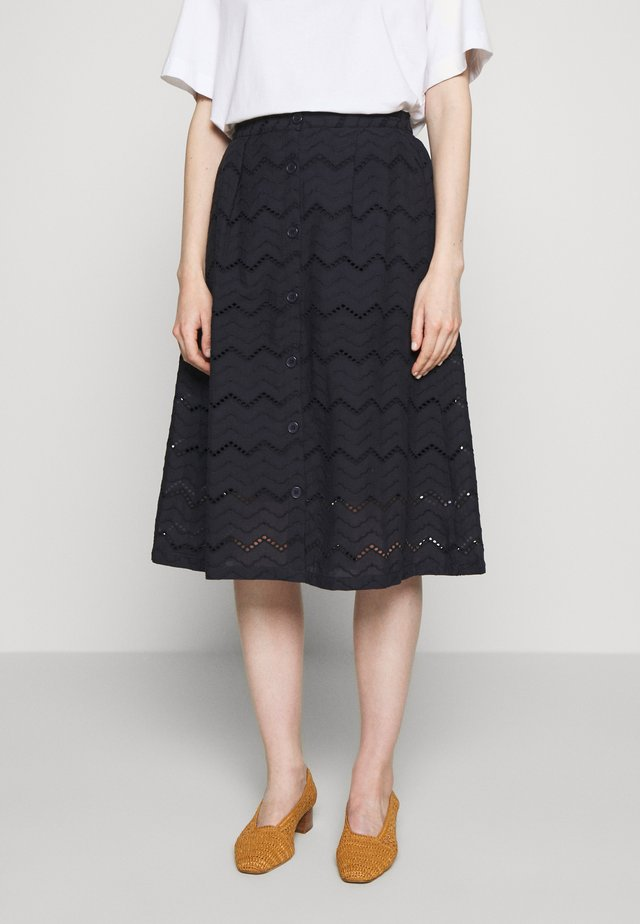 KASIA - A-line skirt - night sky