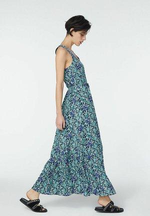 SEA FLOWERS MOTIF PRINT  - Maxi dress - blue jean