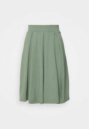Spódnica trapezowa - light green