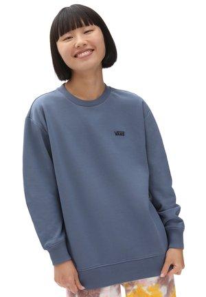 WM FLYING V BFF FT CREW - Sweatshirt - cement blue