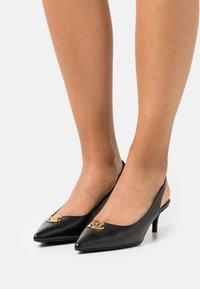 Lauren Ralph Lauren - LOXDALE - Classic heels - black - 0