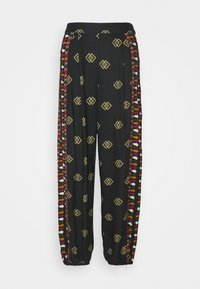 Farm Rio - GRAPHIC SHINE PANTS - Kalhoty - multi - 4
