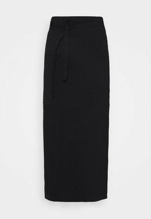 SKIRT - Zavinovací sukně - black