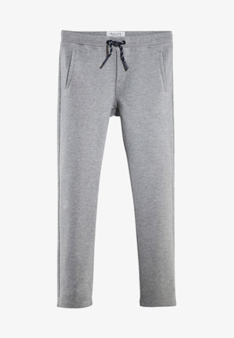 Massimo Dutti - MIT KORDELZUG - Tracksuit bottoms - dark grey