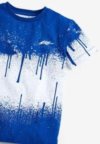 Next - SPLAT  - Print T-shirt - blue-grey - 2