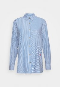 Leon & Harper - CRIQUETTE STRIPES - Button-down blouse - blue/white - 3