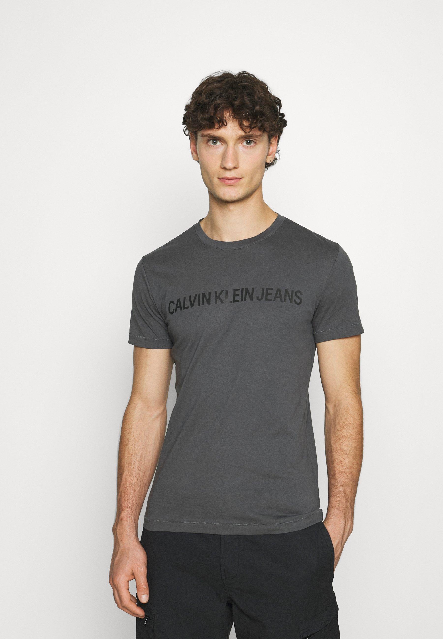Men INSTITUTIONAL LOGO SLIM TEE - Print T-shirt