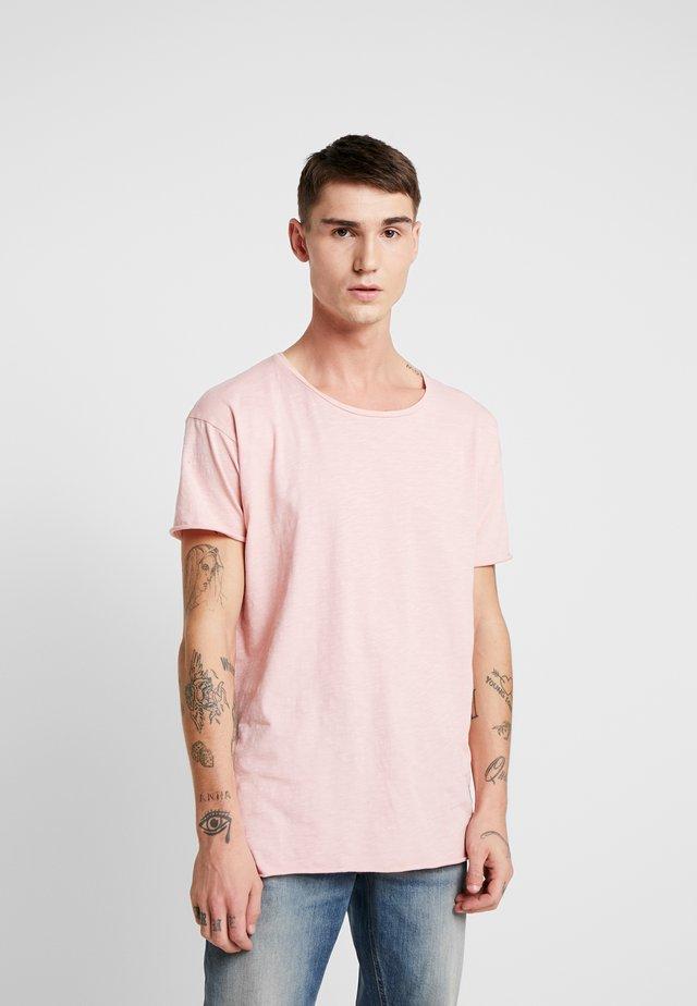 ROGER - T-shirt basic - rose